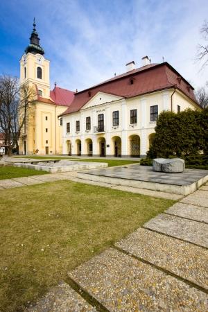 gildhalls: town hall with museum, Brezno, Slovakia