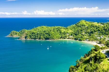 Castara Bay, Tobago 写真素材