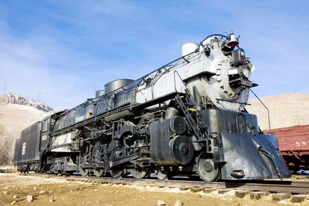 stem locomotive in Colorado Railroad Museum, USA Stock Photo - 15650267