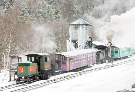 narrowgauge: Mount Washington Cog Railway, Bretton Woods, New Hampshire, USA