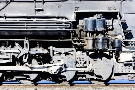 Cumbres and Toltec Narrow Gauge Railroad, Antonito, Colorado, USA Stock Photo - 16771967