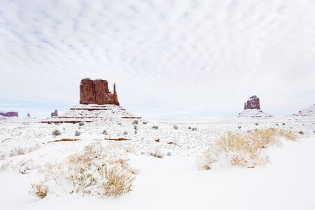 The Mittens, Monument Valley National Park, Utah-Arizona, USA Stock Photo - 16771674