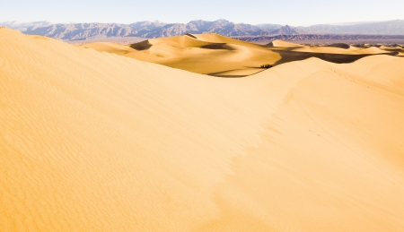 Stovepipe Wells sand dunes, Death Valley National Park, California, USA Stock Photo - 16771790