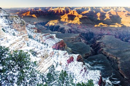 Grand Canyon National Park in winter, Arizona, USA Stock Photo - 16926513