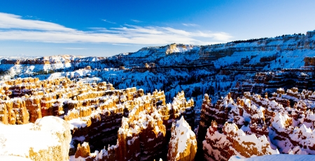 Bryce Canyon National Park in winter, Utah, USA Stock Photo - 16771900