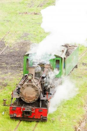 kostolac: steam locomotive, Kostolac, Serbia