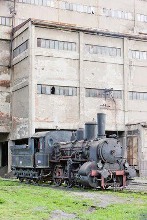 steam locomotive (126.014), Resavica, Serbia Stock Photo - 16770063