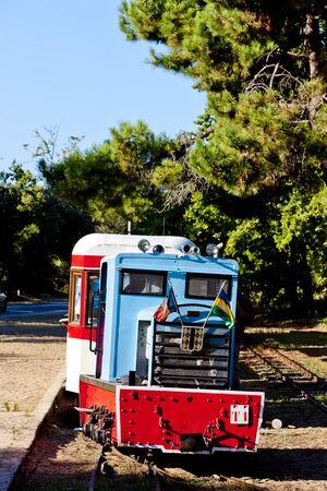 narrow gauge: narrow gauge railway, St-Troyan-Les-Bains, Poitou-Charentes, France