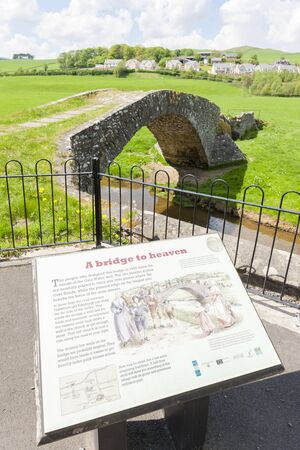 stow: bridge near Stow, Scottish Borders, Scotland