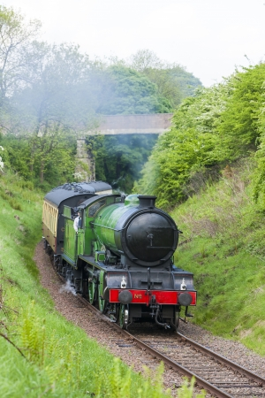 steam train, BoNess   Kinneil Railway, Lothians, Scotland photo