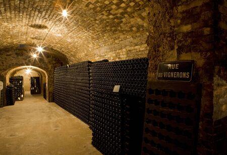 champagne region: Janisson Baradon Champagne Winery, �pernay, Champagne Region, France