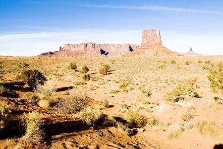 The Mitten, Monument Valley National Park, Utah-Arizona, USA Stock Photo - 17176540
