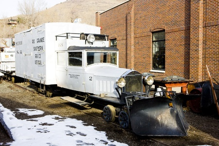 colorado railroad museum: rail cycle, Colorado Railroad Museum, USA