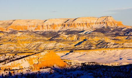 Bryce Canyon National Park in winter, Utah, USA Stock Photo - 17174387