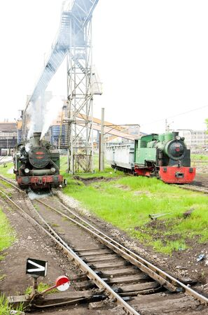 steam locomotives, Kolubara, Serbia Stock Photo - 17175721