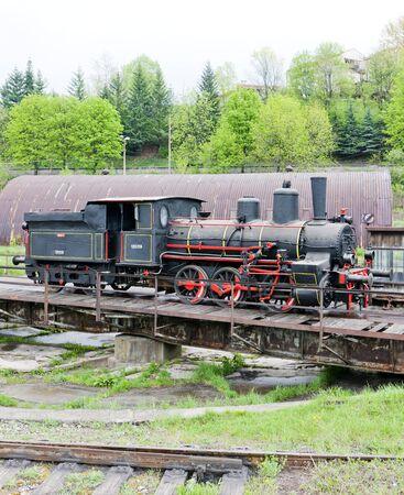 steam locomotive, Resavica, Serbia Stock Photo - 17175761