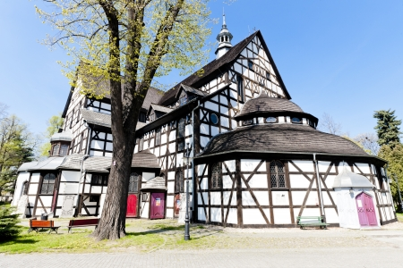timbered: timbered church of Swidnica, Silesia, Poland