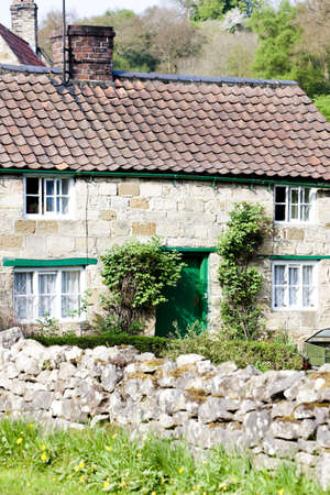 yorkshire and humber: house in Rievaulx, North Yorkshire, England