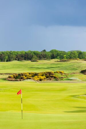 andrews: golf course, St Andrews, Fife, Scotland