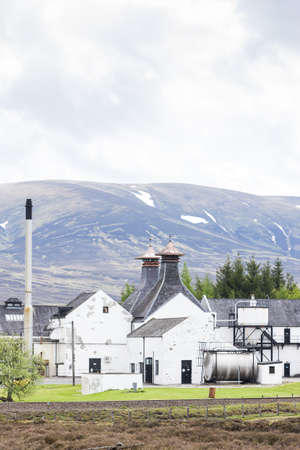 Dalwhinni Distillery, Inverness-shire, Scotland Stock Photo - 17356435