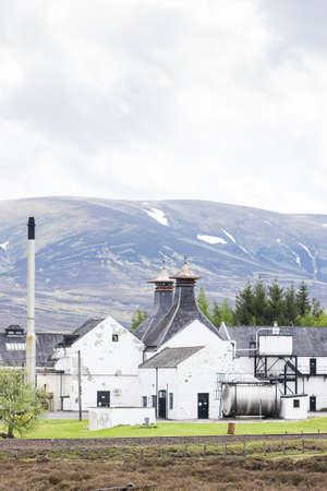 Dalwhinni Distillery, Inverness-shire, Scotland Stock Photo - 17356435