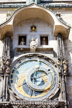staromestke namesti: Horloge at Old Town Square, Prague, Czech Republic