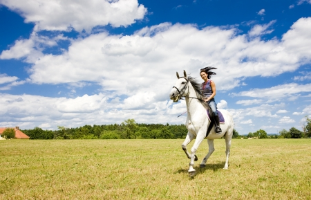 equestrian on horseback Stock Photo - 17718004