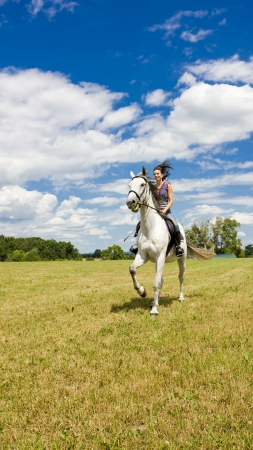 equestrian on horseback Stock Photo - 17718029