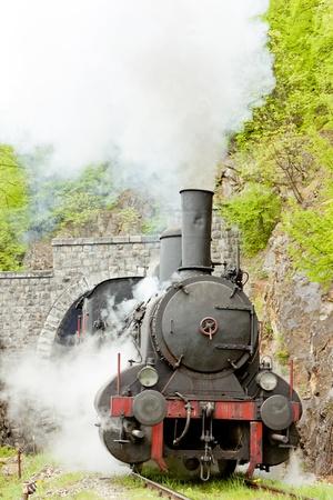 steam locomotive (126.014), Resavica, Serbia Stock Photo - 18133159