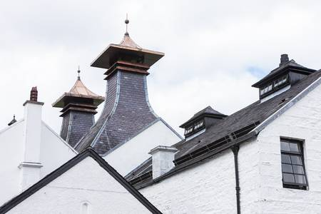 Dalwhinni Distillery, Inverness-shire, Scotland Stock Photo - 18132853