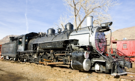 stem locomotive in Colorado Railroad Museum, USA Stock Photo - 18645564