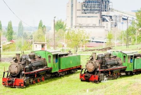 yugoslavia federal republic: steam locomotives, Kostolac, Serbia