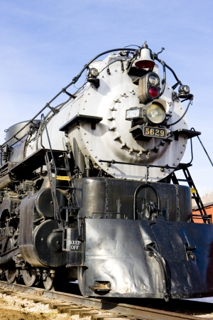 stem locomotive in Colorado Railroad Museum, USA photo