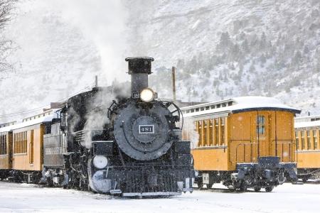 narrow gauge: Durango and Silverton Narrow Gauge Railroad, Colorado, USA