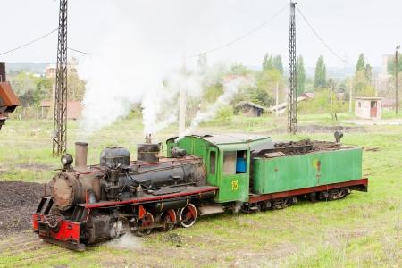 steam locomotive, Kostolac, Serbia Stock Photo - 20431229