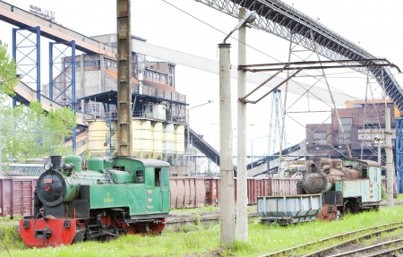 steam locomotive, Kolubara, Serbia Stock Photo - 20431221