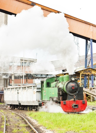 steam freight train, Kolubara, Serbia Stock Photo - 20431073