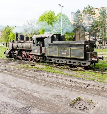 steam locomotive (126.014), Resavica, Serbia Stock Photo - 20431207