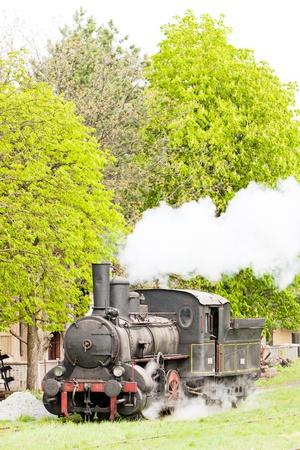steam locomotive (126.014), Resavica, Serbia Stock Photo - 20431227