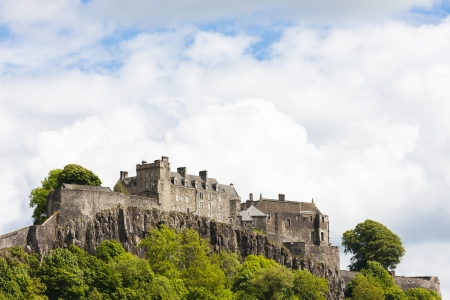Stirling Castle, Stirlingshire, Scotland Banco de Imagens