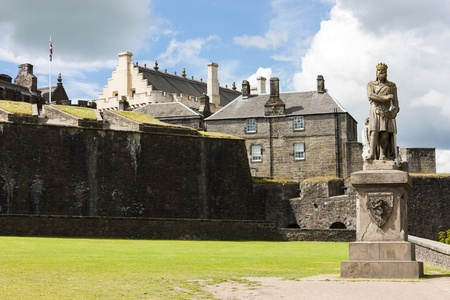 robert bruce: Stirling Castle, Stirlingshire, Scotland Editorial