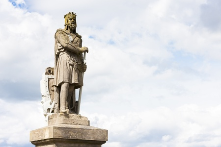 robert bruce: Statue of Robert the Bruce, Stirling, Scotland