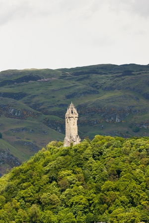wallace: William Wallace Monument, Stirling, Scotland