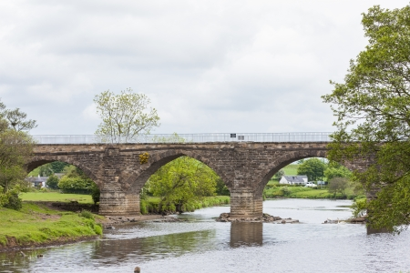 milton: Laigh Milton Viaduct, East Ayrshire, Scotland Stock Photo