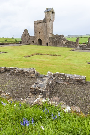 abbey ruins abbey: ruins of Crossraguel Abbey, Ayrshire, Scotland