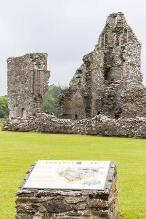 abbey ruins abbey: ruins of Glenluce Abbey, Wigtownshire, Scotland