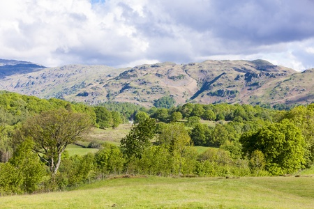landscape of Lake District, Cumbria, England Stock Photo - 20862371