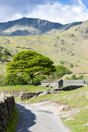 landscape of Lake District, Cumbria, England Stock Photo - 20862374