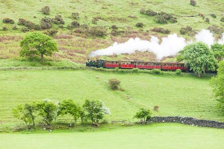 steam train, Talyllyn Railway, Wales Stock Photo - 20849541
