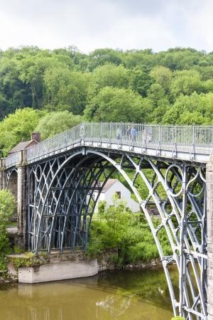 severn: Ironbridge, Shropshire, England Stock Photo